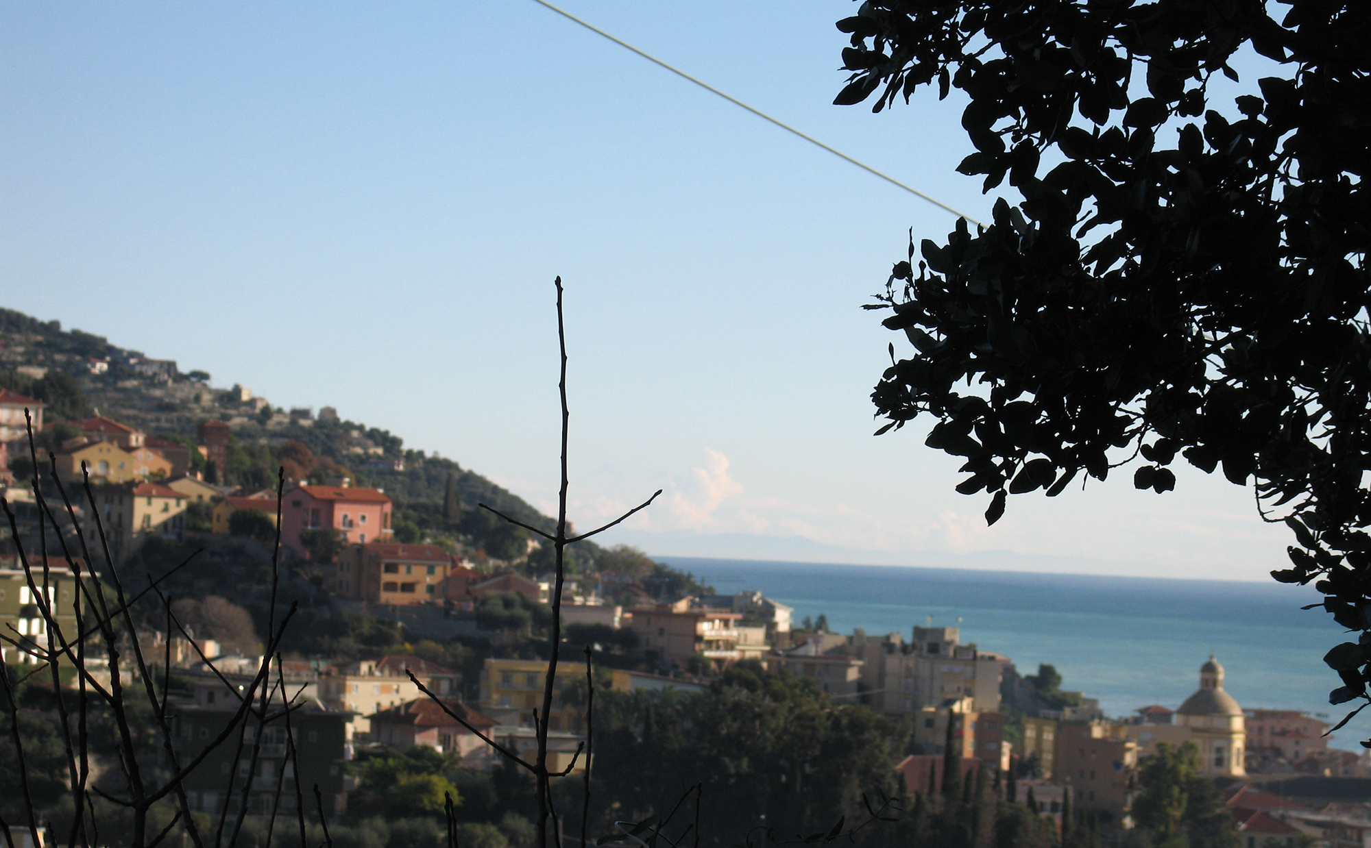Casa Barbara taken from Caprazzoppa Hill