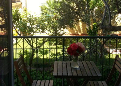 Balcony with Table