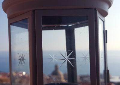 Terrasse mit romantischem Meerblick